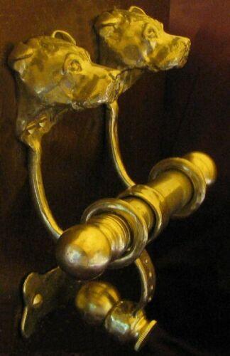 STAFFORDSHIRE BULL TERRIER, STAFFIE Bronze DUET Door