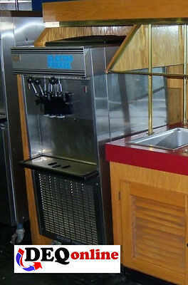 Electro Freeze 66tf-137 Ice Cream Machine 3 Head Twist 208230 1p Water Cooled