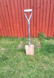 Garden works outdoor digging spade