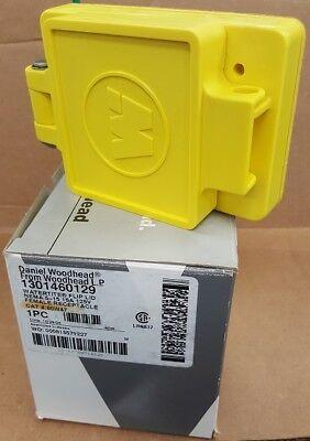 Daniel Woodhead Company 60w47 Watertite Flip Lid Nema 5-15 15a 125v New In Box