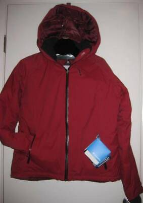 COLUMBIA women's best down RED full zip coat Jacket XL NWT $280 ski