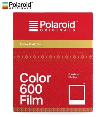 Polaroid Originals FESTIVE RED Color instant film - 600 636