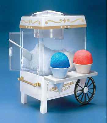 Snow Cone Machine Maker Shaved Ice Hawaiian Sno Electric Kids Snowball Home