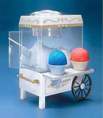 Snow Cone Machine Maker Shaved Ice Hawaiian Sno Electric Kids Snowball Home