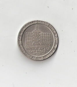 USA IMPERIAL PALACE - LAS VEGAS - Gaming Token - One Dollar used - <span itemprop='availableAtOrFrom'>Stmk., Österreich</span> - USA IMPERIAL PALACE - LAS VEGAS - Gaming Token - One Dollar used - Stmk., Österreich