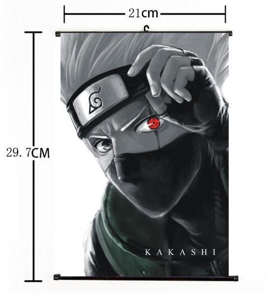 """Hot Japan Anime Naruto Kakashi Home Decor Poster Wall Scroll 8""""x12"""" 01"""