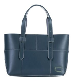 Grey Leather iiiBeCa (Joy Gryson) New York Warren St Tote Bag Cammeray North Sydney Area Preview
