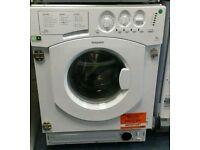 NEW Hotpoint integrated 7kg B grade washing machine