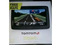 TomTom start 25 M boxed up full lifetime UK and Europe maps including eastern europe