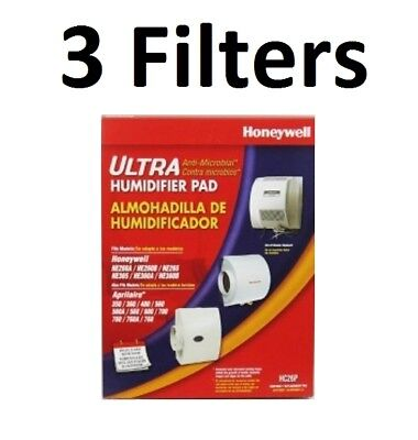 Honeywell Filter Pads (HoneyWell HE360A HE360B Whole House Humidifier Filter Pad 3-Pack)