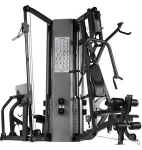 HOIST MODEL 4400 COMMERCIAL 4 STACK GYM MINT CONDITION HARDLY USE IN PRIVET UP SCALE RESIDENCE