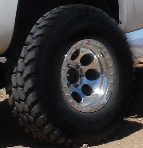 """Wanted: 35"""" tires for 16"""" wheel."""