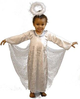 Nativity- Arch Angel Gabriel-Christmas Engel Mädchen Kostüm Outfit Jedes Alter