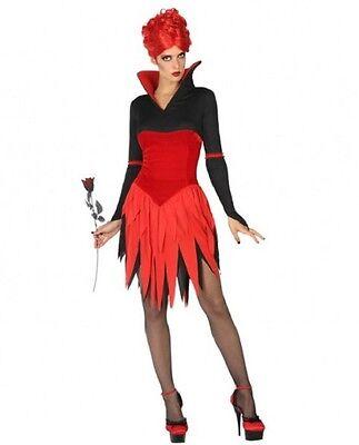 Déguisement Femme VAMPIRE Rouge XL 44 Costume Adulte Halloween NEUF](Costume Halloween Vampire Femme)
