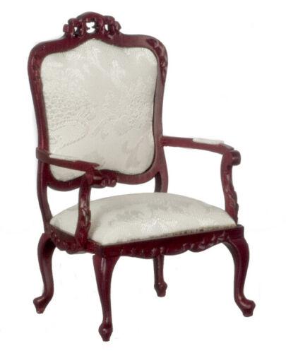 Fancy Victorian Armchair in Mahogany