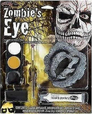 Halloween Special Effects Zombie Eye Complete Kit Horror Gory Make Up 9501