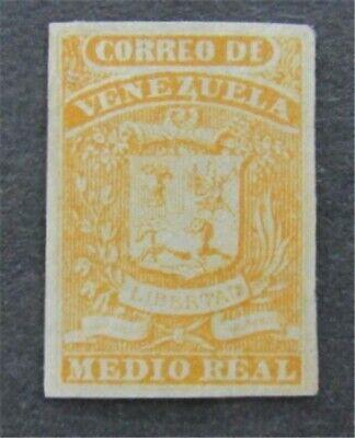 nystamps Venezuela Stamp # 1 Mint OG H    L16y1192