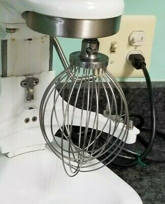 Hobart N50 5 Quart Stainless Wire Whip Attachment. N5d For 5 Qt N-50 Mixers