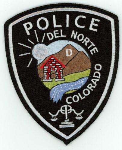 COLORADO CO DEL NORTE POLICE NEW SHOULDER PATCH SHERIFF