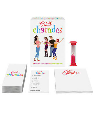 Novelty Adult Charades Naughty Party Game (Adult Naughty)