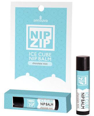 Sensuva Nip Zip Ice Cube Flavored Nip Balm](Flavored Ice Cubes)