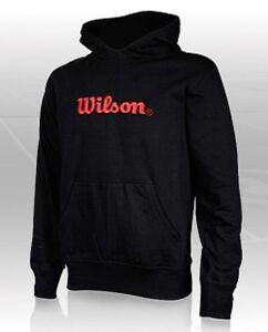 Wilson Pullover mit Kapuze. Hooded Sweater. Roger Federer. Tennis & Sport. Pulli