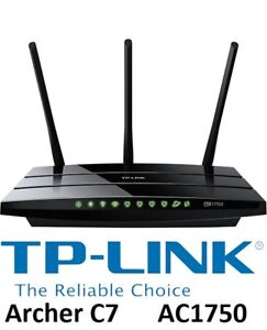 NEW TP-LINK AC1750 WIRELESS ROUTER, ARCHER C7