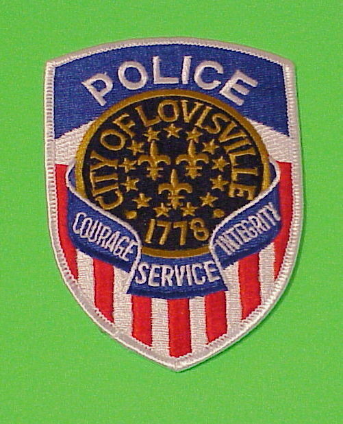 LOUISVILLE  KENTUCKY  1778  KY   POLICE DEPT. PATCH  FREE SHIPPING!!!