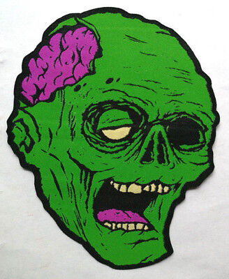 PATCH - Old Creeps Zombie - HORROR / Monster / Halloween Woven patch - iron-on