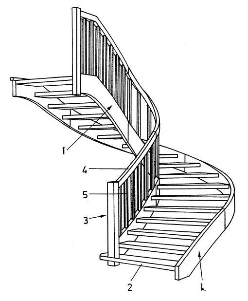 holztreppe selbst bauen holz treppe treppen technik. Black Bedroom Furniture Sets. Home Design Ideas