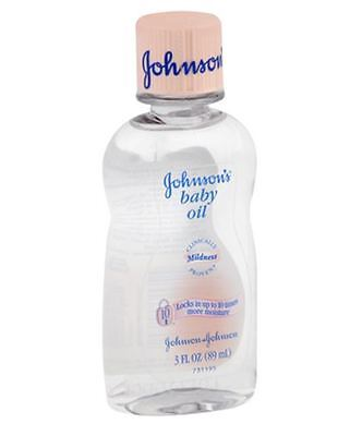JOHNSON'S Baby Oil 3 oz