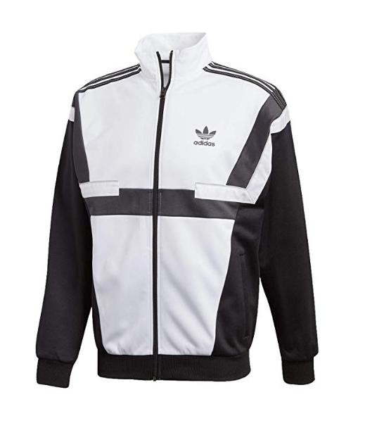 Adidas Originals BR8 TT Track Jacket Men's (Size S XL) Black White CZ6109