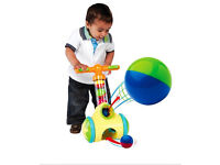 NEW Pic 'n Pop walker ball blaster toy