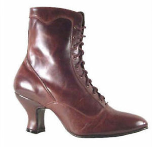Brand New Victorian Style, Ladies, All Leather, Boots