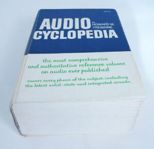 Audio Cyclopaedia Hardcover by Howard M. Tremaine (Author)