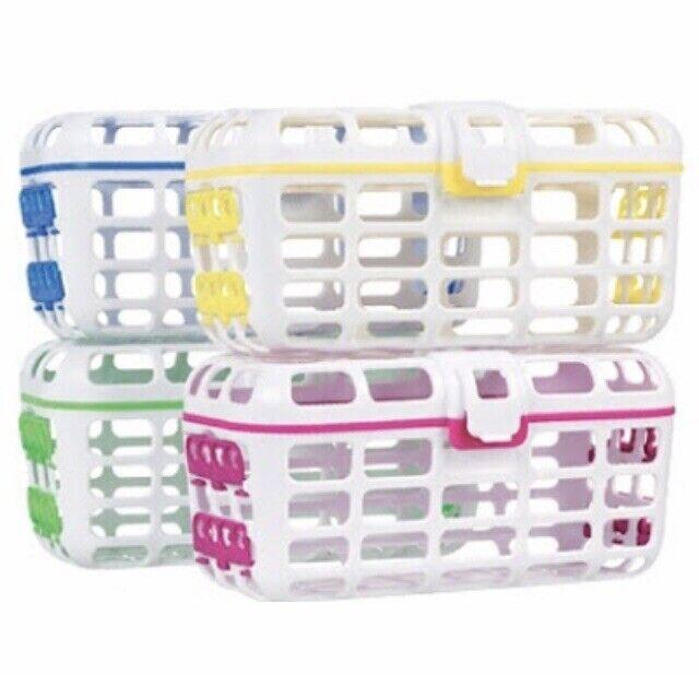 Munchkin Deluxe Dishwasher Basket,Yellow