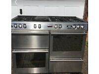 STOVES gas hob & electric fan oven