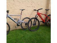 Orange bikes STOLEN £1000 reward!!