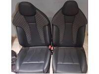 Audi RS3 leather bucket seats