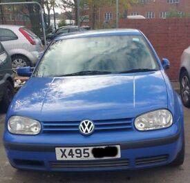 VW Golf Bonnet In Blue Colour (2000)