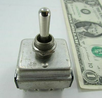 Cutler Hammer 4-pole Momentary 3-position Toggle Switches 10a 250vac 15a 125vac