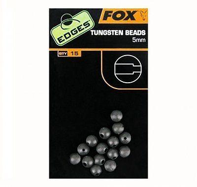 "/""The Edges/"" Range CAC489 Fox Carp Fishing 5mm Tungsten Beads"