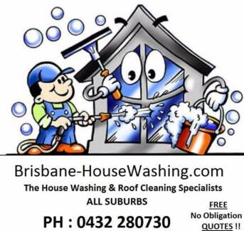 House Washing & Roof Cleaning Services Brisbane City Brisbane North West Preview