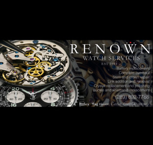 WATCH REPAIR AND QUICK BATTERY REPLACEMENT