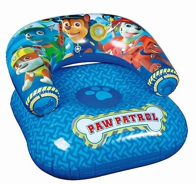 NEW PAW PATROL NICKELODEON KIDS INFLATABLE CHAIR 3+