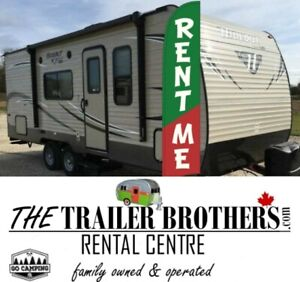 Home Sold? TRAVEL TRAILERS FOR RENT