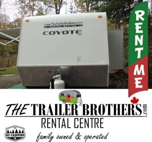 TRAVEL TRAILER RENTALS $299 May Weekends