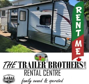 TRAVEL TRAILER RENTALS for the job site
