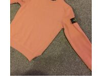 * BRAND NEW *OFF PINK STONE ISLAND SWEATER