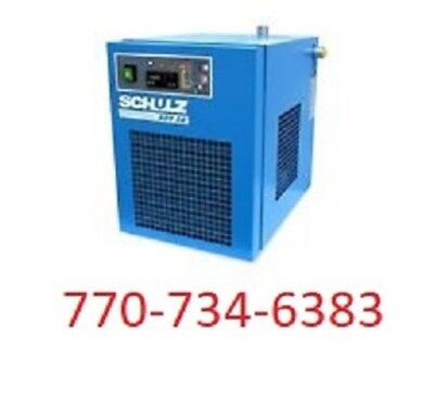 Schulz Refrigerated Air Compressor Dryer - 35-44 Cfm - Ads35 115 Volts